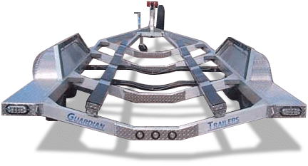 Jet Boat Trailers | Fishing Boats | Recreational Boats | Guardian