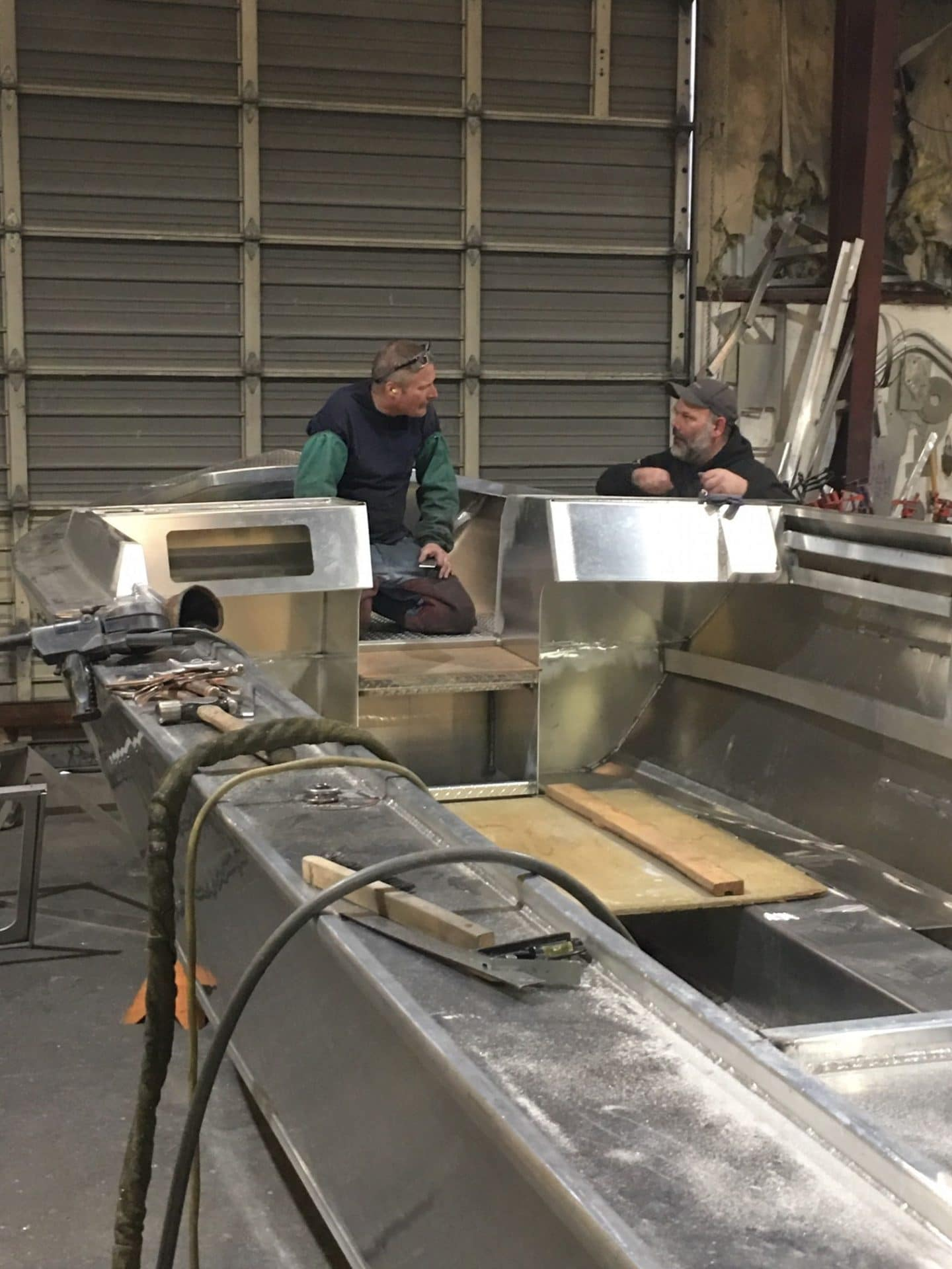 Construction - Rogue Jet Boatworks